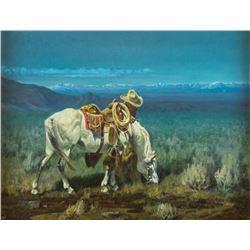Dan Metz, oil on canvas