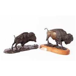 Joe Halko, two bronzes