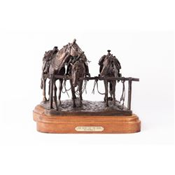 Fred Fellows, bronze