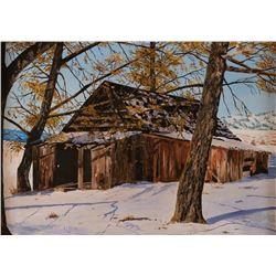 E.J. Kropf, oil on canvas