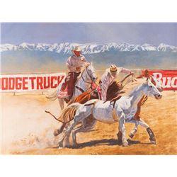 Daryl Poulin, oil on canvas