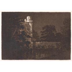 George Elbert Burr, etching