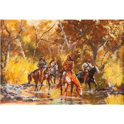 Jim Carson, oil on canvas