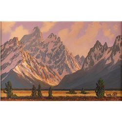 Roy Kerswill, oil on canvas