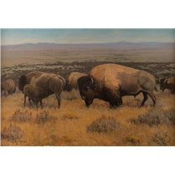 Terry S. Bateman, oil on canvas