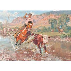 Robert Meyers, oil on canvas