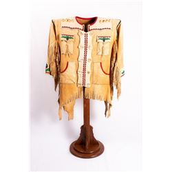 Metis Man's Beaded Buckskin Coat