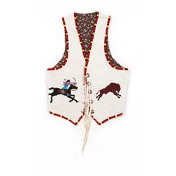 Sioux Beaded Man's Vest