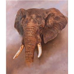 Ed Aldrich, oil on canvas