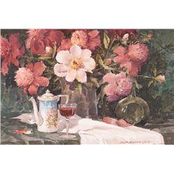 Lowell Ellsworth Smith, watercolor