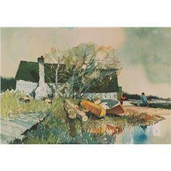 Roy Mason, watercolor
