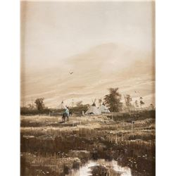 Thomas de Decker, oil on canvas