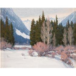 Jim Lamb, oil on canvas