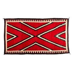 "Navajo Rug, 8'7"" x 4'10"""