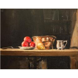 Charles Apt, oil on canvas