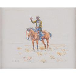 O.C. Seltzer, watercolor