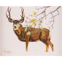 Robert Lougheed, watercolor