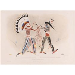 Karl Bodmer, handcolored aquatint