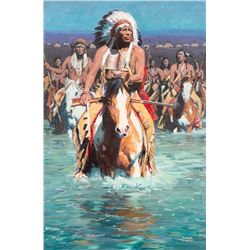David Mann, oil on canvas