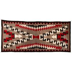 "Navajo Rug, 11'4"" x 5'"