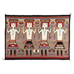 "Navajo Rug, 3'10"" x 5'6"""