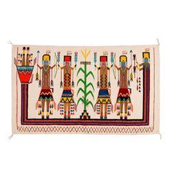 "Navajo Rug, 2'8"" x 4'7"""