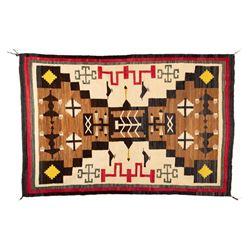 "Navajo Rug, 6'2"" x 4'1"""