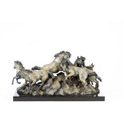 Sherry Salari Sander, bronze
