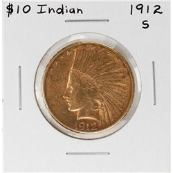 1912-S $10 Indian Head Eagle Gold Coin