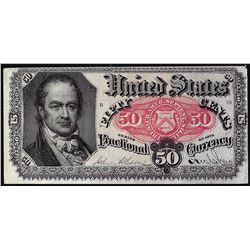 March 3, 1863 Fifty Cents Fifth Issue Fractional Currency Note