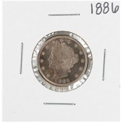 1886 Proof Liberty V Nickel Coin