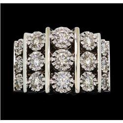 14KT White Gold 1.50 ctw Diamond Ring