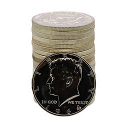 Roll of (20) Proof 1964 Kennedy Half Dollar Coins