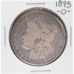 1893-O $1 Morgan Silver Dollar Coin