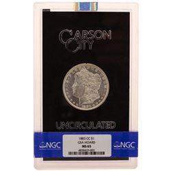 1883-CC $1 Morgan Silver Dollar Coin GSA Uncirculated NGC MS65