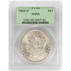 1902-O $1 Morgan Silver Dollar Coin PCGS MS65 OGH