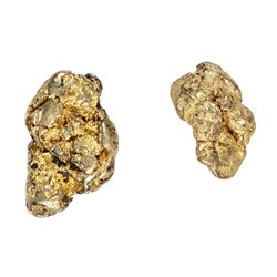 2.92 Grams Total Weight Gold Nuggets