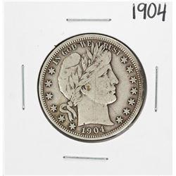 1904 Barber Half Dollar Coin