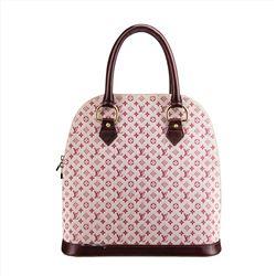 Louis Vuitton Mini Lin Monogram Alma Handbag
