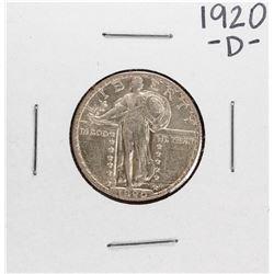1920-D Standing Quarter Coin