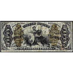 March 3, 1863 Fifty Cents Third Issue Justice Fractional Currency Note