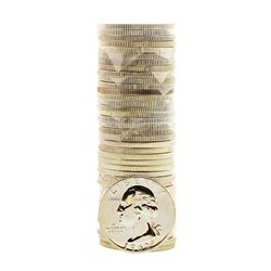 Roll of (40) Proof 1962 Washington Quarter Coins