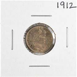1912 Barber Dime Coin
