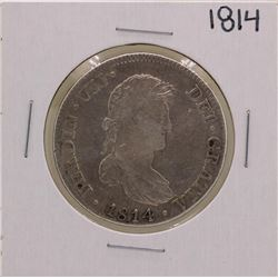 1814 Spanish 8 Reales Silver Coin