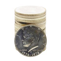 Roll of (20) Brilliant Uncirculated 1976-S Bicentennial 40% Silver Half Dollar Coins