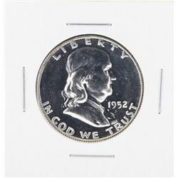 1952 Franklin Half Dollar Proof Coin