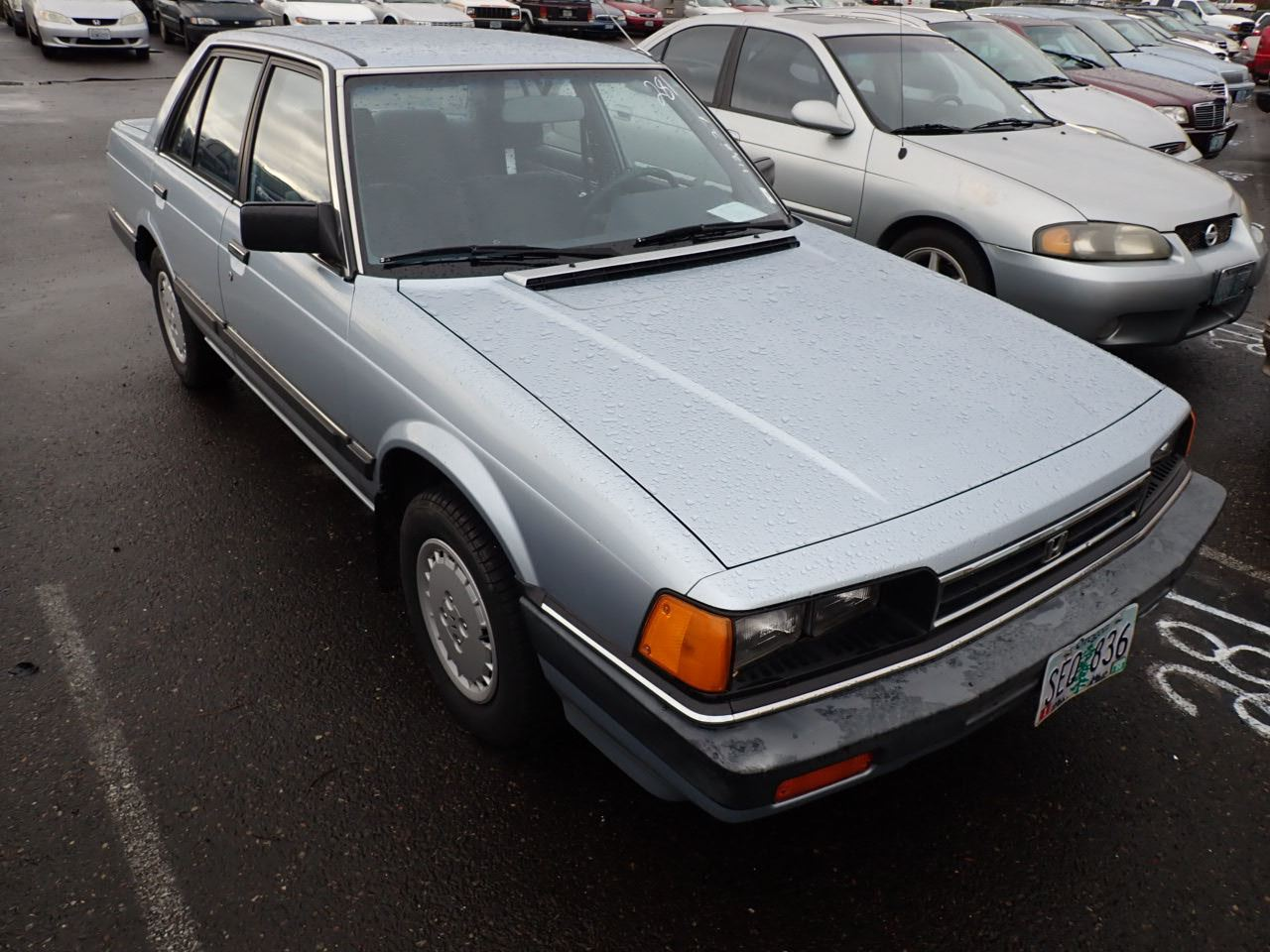 1984 Honda Accord - Speeds Auto Auctions