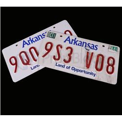 American Made Barry Seal Licence Plate Set