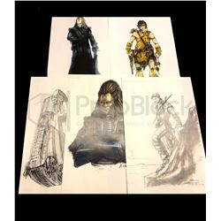Battlefield Earth Production Artwork Collection