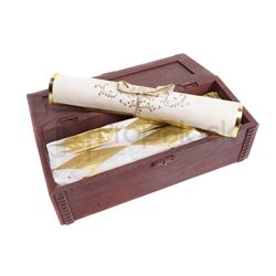 Harry Potter & The Sorcerer's Stone Song Scroll & Box